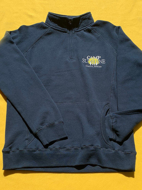 Women's Benchmark ¼ Sweatshirt -Navy