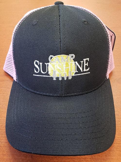Black /Light Pink Hat