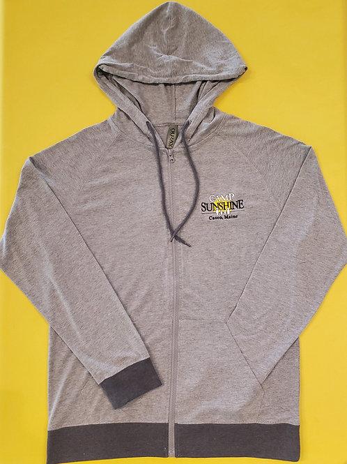 Full Zip Hood Jacket - Premium Heather