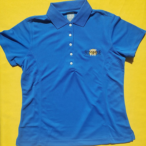 Women's Polo - Royal Blue