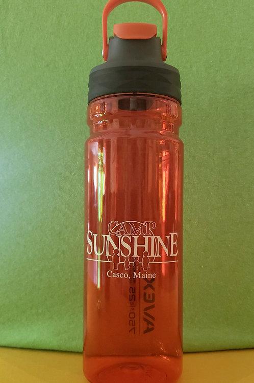 Avex 25 oz FreeFlow Autoseal Water Bottle- Burnt Orange
