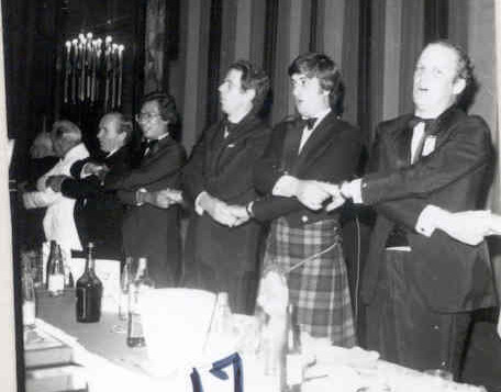 1981 Banquet Kerr & Ford singing