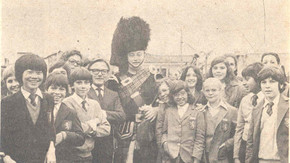 1979 Piper at St Pauls