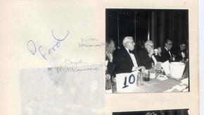 1981 Banquet Nisbet & Simpson Nisbet Cup