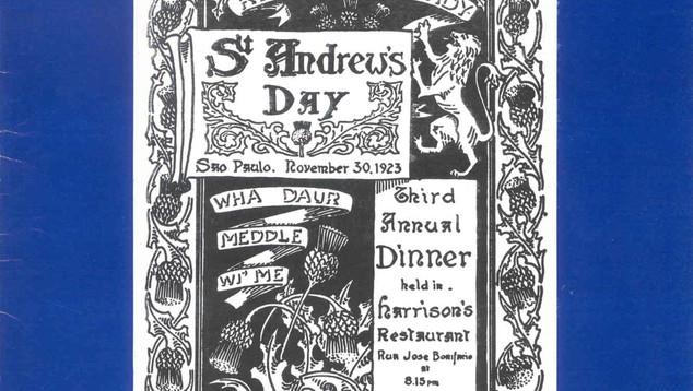 1978 Banquet Programme