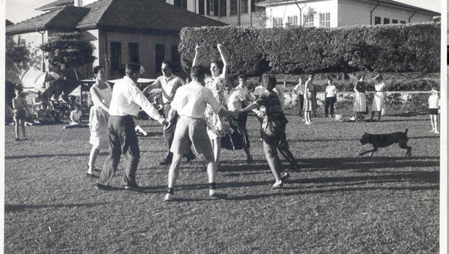 1963 Picnic Dancing