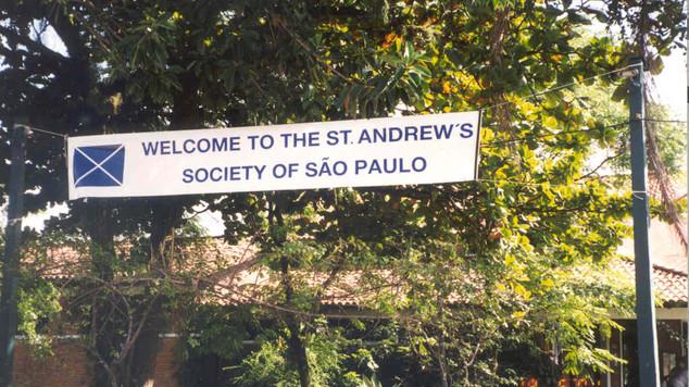 2001 Santos S Vicente GC Banner