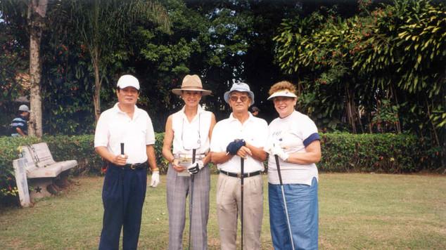 2001 Santos S Vicente Deb Mackenzie