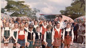 1974 St Andrews Dancing Team