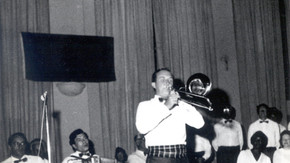 1974 Willie Anderson at Jubilee Ceilidh