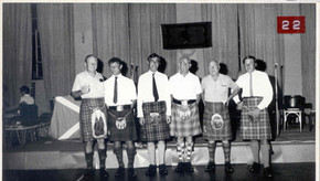 1974 Ceilidh The Kilts