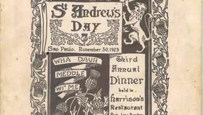 1923 Dinner Programme
