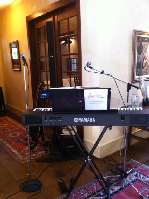 Smitten Kelowna Plays Beautiful Lake Front Wedding Party
