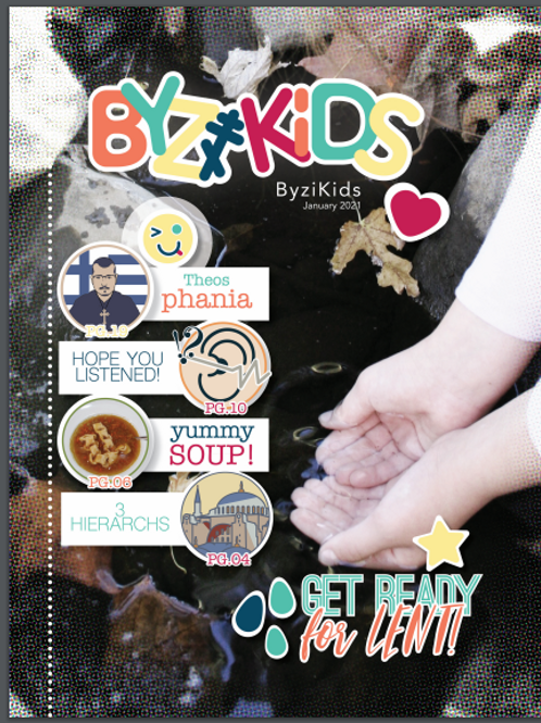 ByziKids: January 2021, Digital Issue