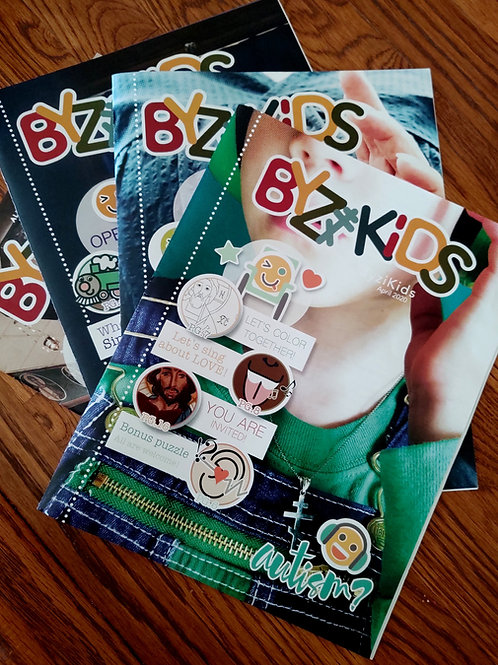 ByziKids Magazine: 12 month Subscription