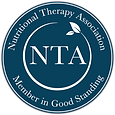 Nutritional Therapy Assocation certification seal