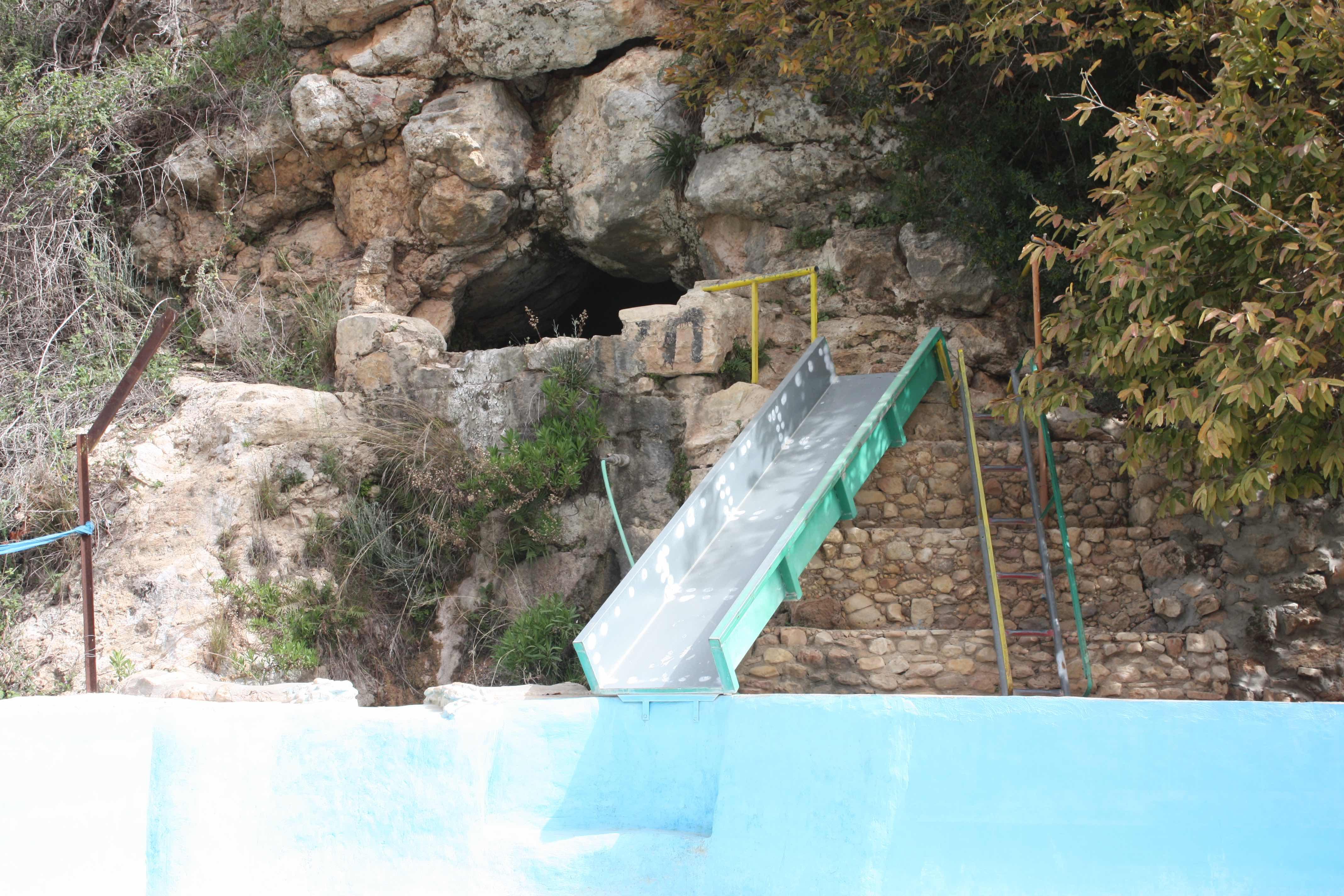 מיקום המערה
