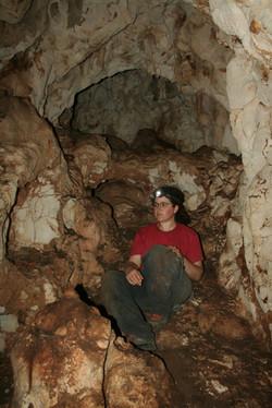 החלל המרכזי במערה