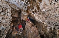 אולם E - הגדול בחללי המערה