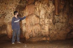 מסך משקעי מערות