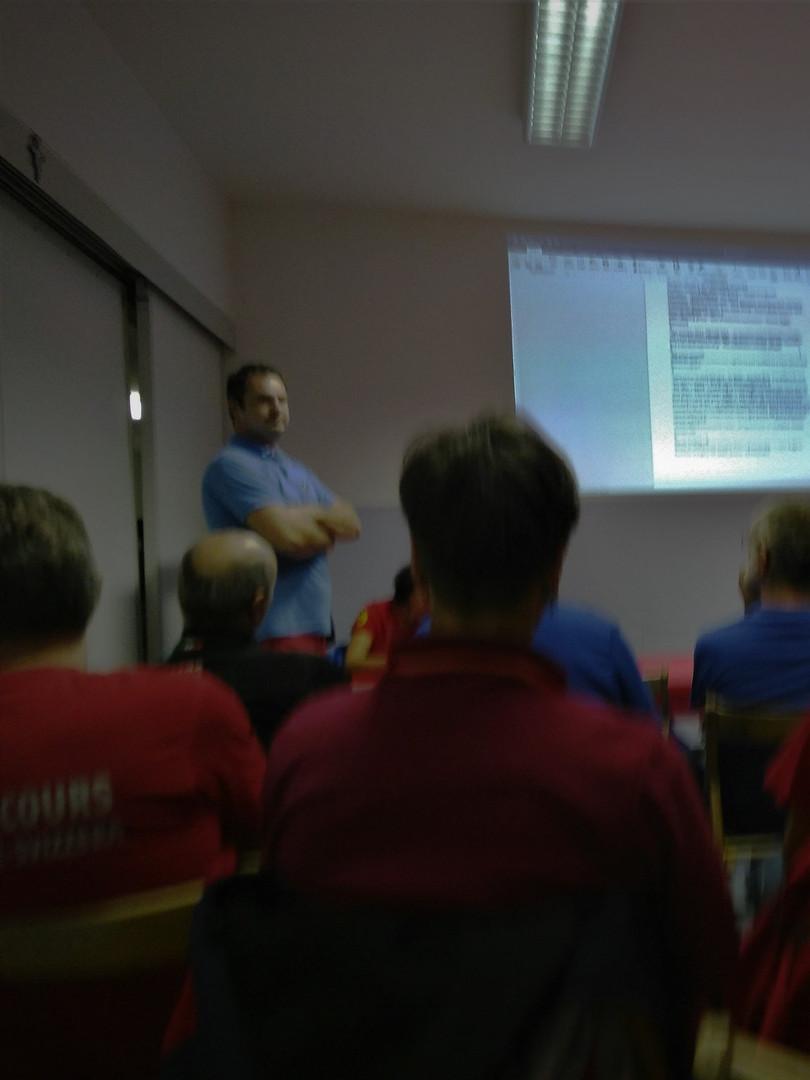 ECRA meeting Casola