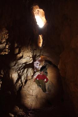 חלקה הפנימי של המערה