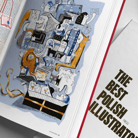 ALBUM THE BEST POLISH ILLUSTRATORS