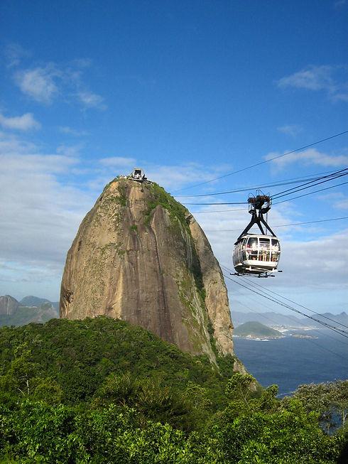 Sugar Loaf cabe car - Rio de Janeiro pri
