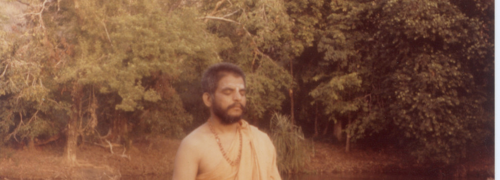 1980 January Swamiji at Kullur Mukambika