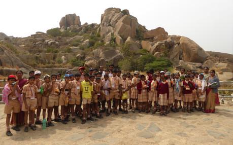 Field Trip to Chitradurga Fort
