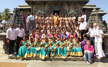 Field Trip to Belur Chennakeshava Temple
