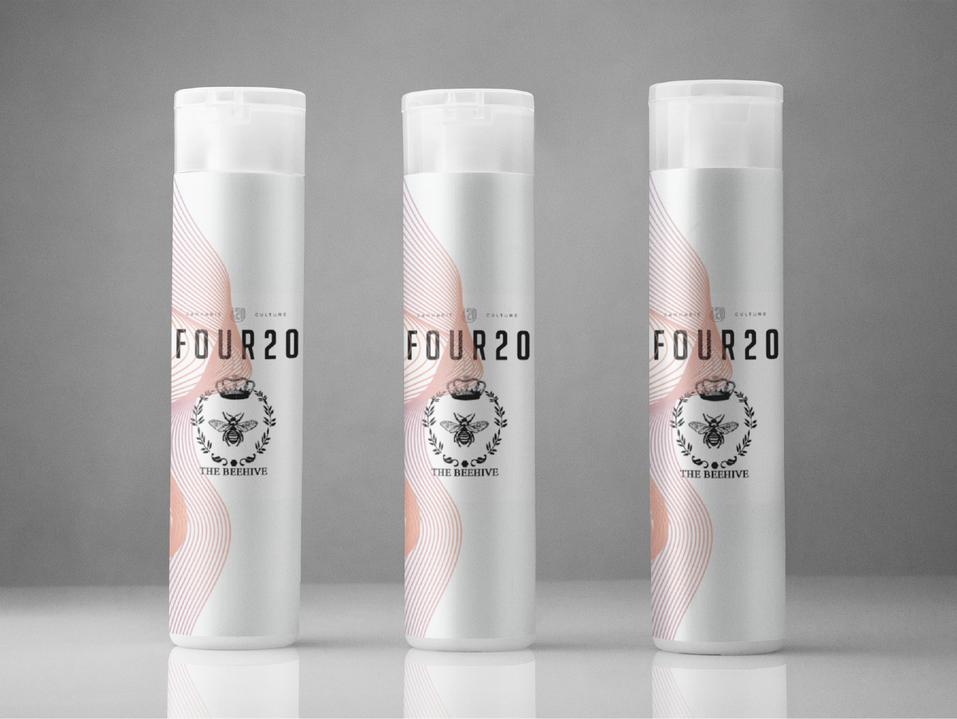 Lea Nicole Creative graphic design for Four20 Premium Market