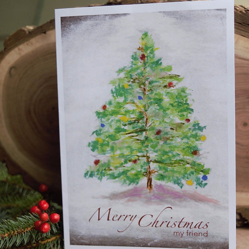 Christmas Card for Friend