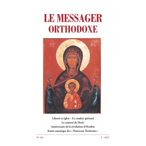 Le Messager Orthodoxe n°162