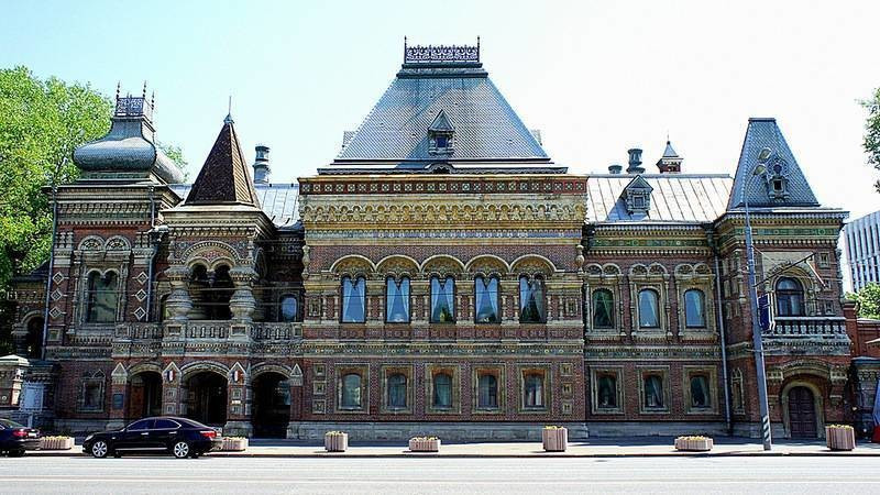 La maison Igoumov, actuelle ambassade de France en Russie, située rue Bol'shaya Yakimanka à Moscou..