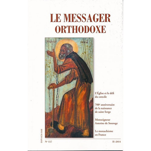 Le Messager Orthodoxe n°157