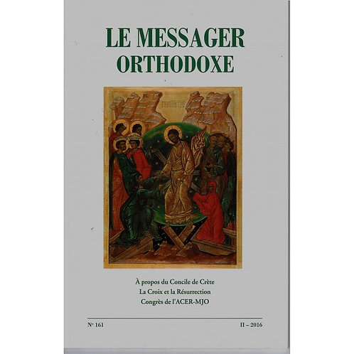 Le Messager Orthodoxe n°161