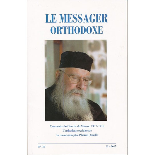 Le Messager Orthodoxe n°163