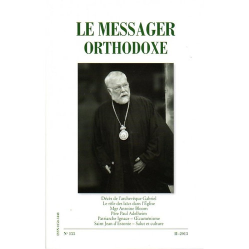 Le Messager Orthodoxe n°155