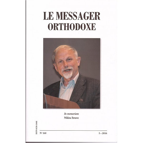 Le Messager Orthodoxe n°160