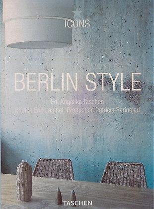BERLIN STYLE ( Icons) TASCHEN - 1 LIVRO - USADO