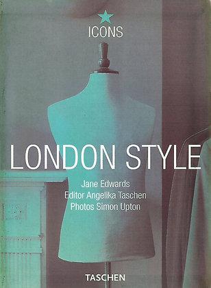 LONDON STYLE ( Icons) TASCHEN - 1 LIVRO - USADO