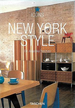 NEW YORK STYLE ( Icons) TASCHEN - 1 LIVRO - USADO