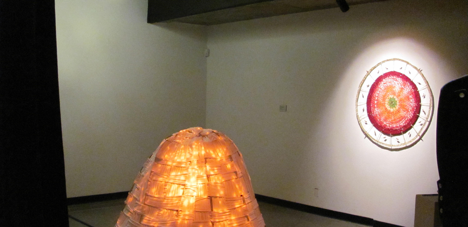installation view of Rebirth Space