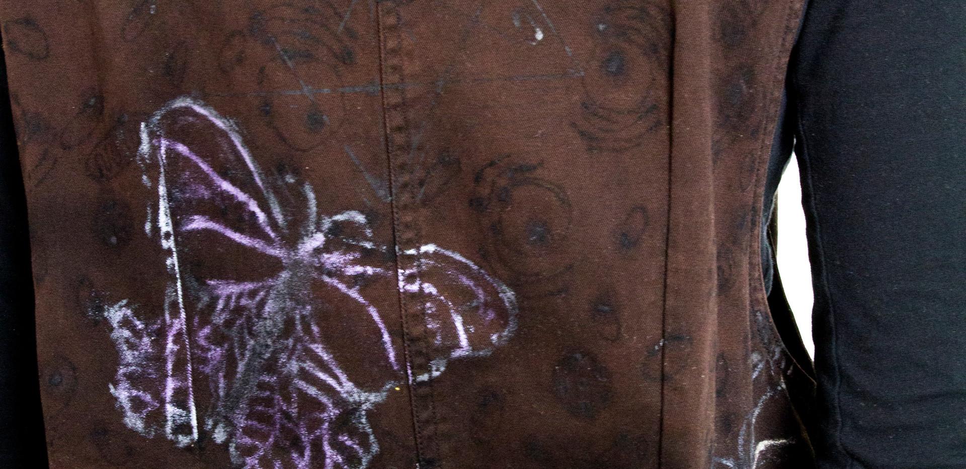 Butterfly Destiny-back detail