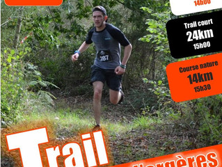 Au programme ce weekend : Trails d'Orgères, la Tunisie...