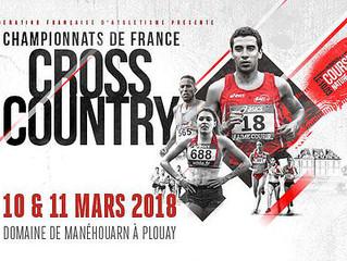 Retour sur les France de cross et Weekend du 17 et 18/03
