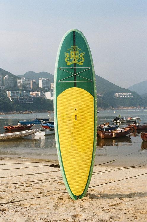 AquaBoundHK SUP (HARD) - Green & Yellow