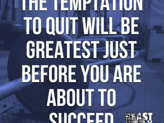 When is it time to Quit?