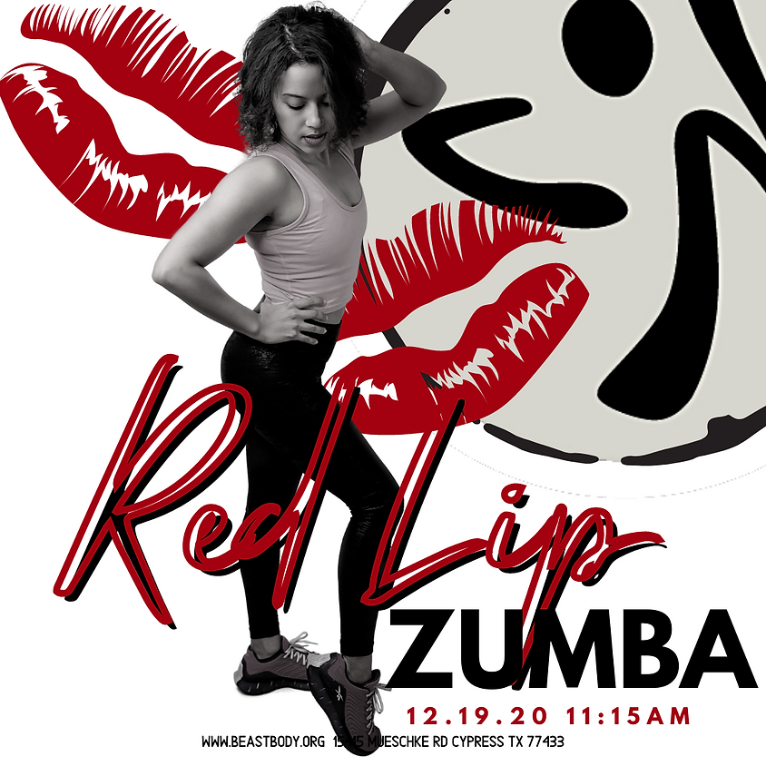 Red Lip Zumba (In House & Online)